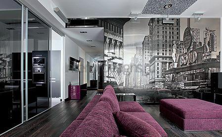 оформление комнаты в стиле хай-тек
