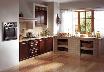 обустройство интерьера кухни