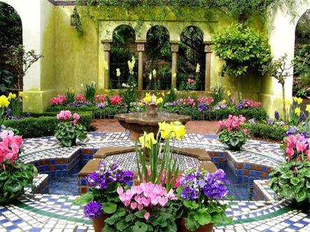 мавританский сад