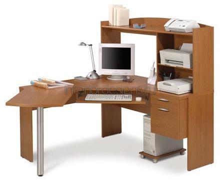 письменный стол со стеллажами