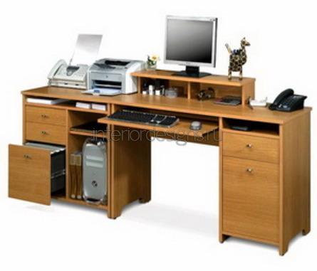 расположение оргтехники на столе