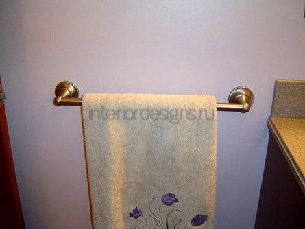 штанга для банного полотенца
