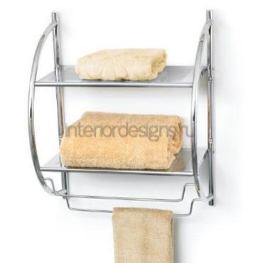 металлический держатель с полочками