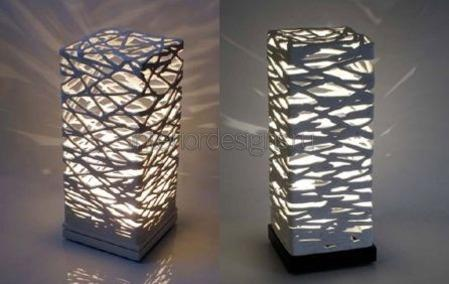 светильник из полимерной глины