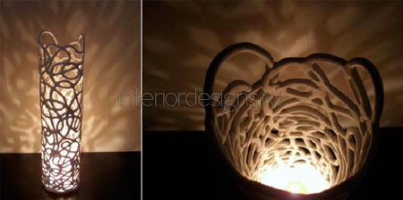 декоративное освещение комнаты