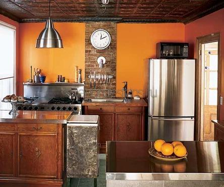 холодильник с металлическим отливом