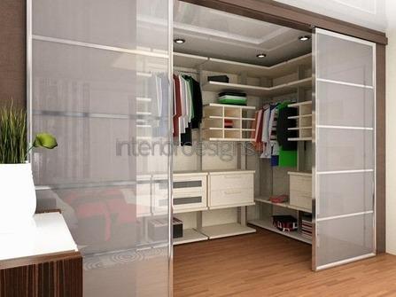 разграничение пространства совмещенной спальни