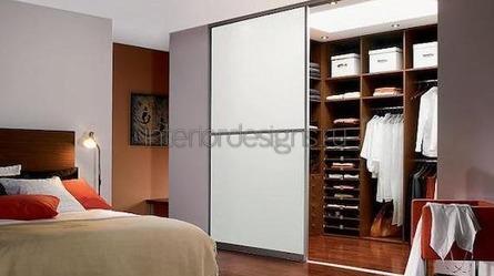 идеи для интерьера спальни с гардеробной