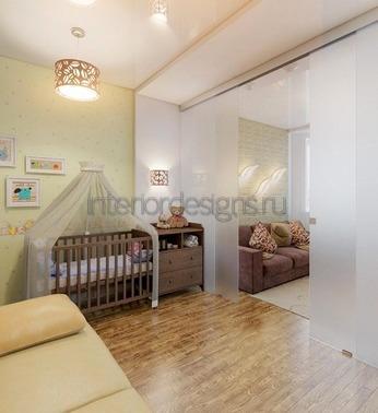 детский уголок в гостиной