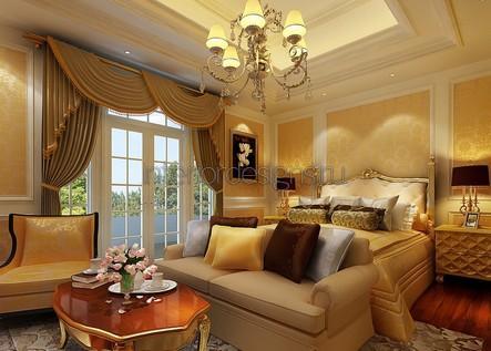 диван в дизайне спальни