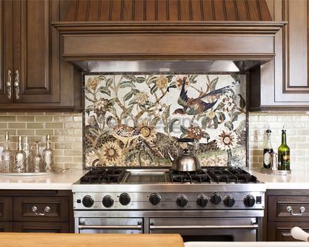 фото дизайна стен кухни