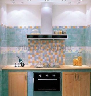мозаичное полотно над плитой