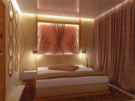 скрытая потолочная подсветка