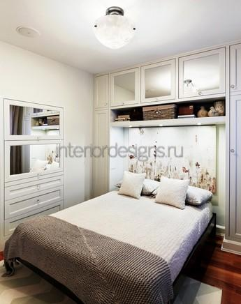 спальня без окна дизайн