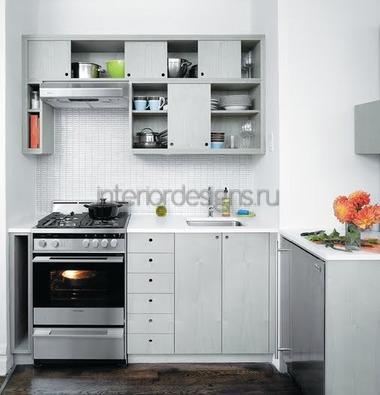 оформление маленькой комнаты в белом цвете