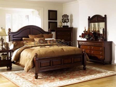 классическая кровать на ножках