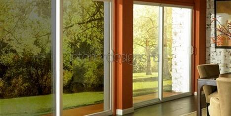 солнцезащитная патина на стеклах в доме