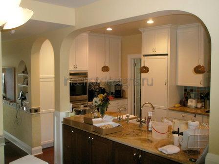 Кухни фото дизайн с аркой