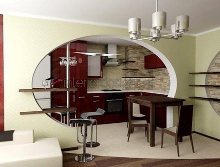 обустройство столовой и гостиной