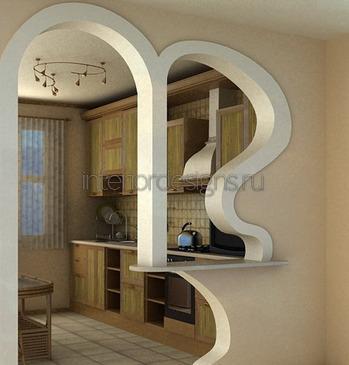художественное оформление арки