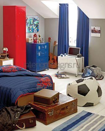 интерьер спальни для подростков
