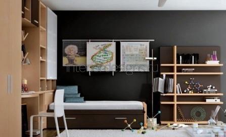 стены серого цвета
