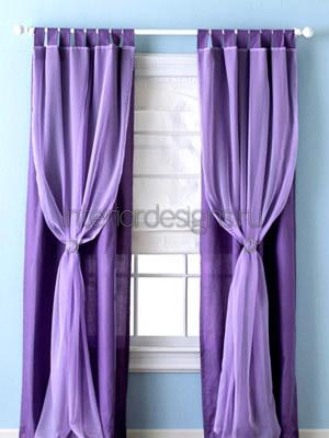 декорирование штор своими руками