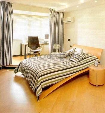 зонирование комнаты занавесками