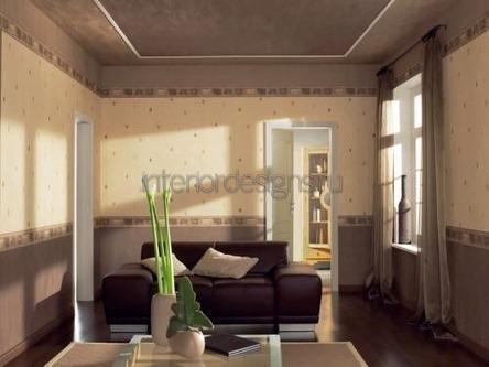 комната в коричневой палитре