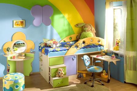 мебель в дизайне детских спален