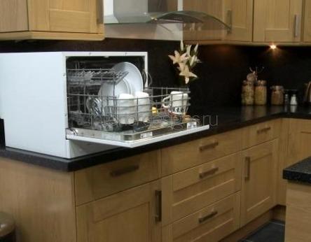 установка настольной посудомойки
