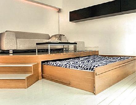 выдвижная конструкция спального места
