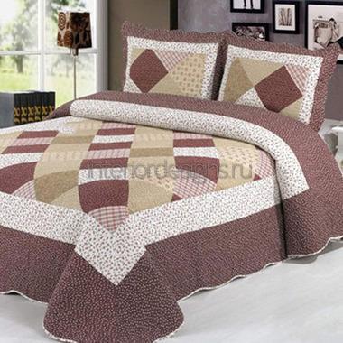 комплект покрывала с подушками