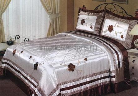 шелковое одеяло для кровати