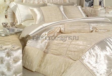 украшения для кровати из сатина