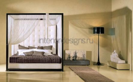 украшение спального ложе