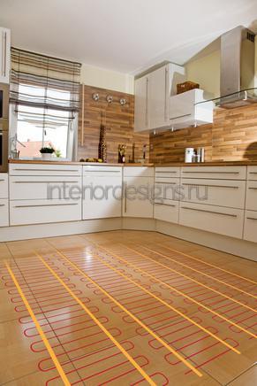 домашний интерьер кухни