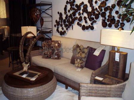 закругленный угловой диван