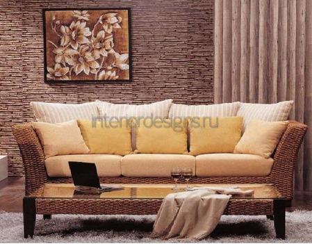 украшение комнаты подушками