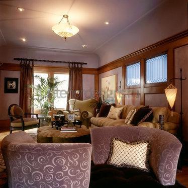 мягкий мебельный уголок в гостиной
