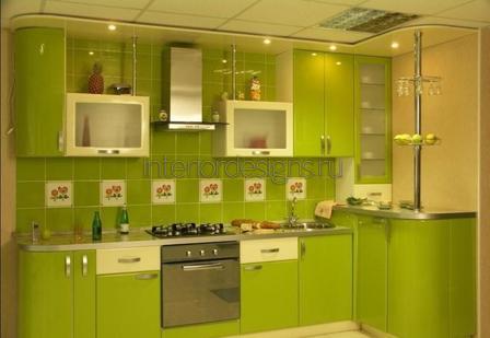 салатовый цвет в квартире