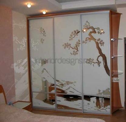 современный декор шкафа