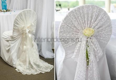 свадебные аксессуары на мебели