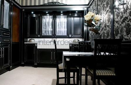 дизайн черной кухни – фото