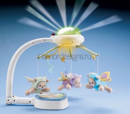 многофункциональный мобиль с подсветкой