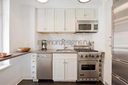 фото интерьера маленьких кухонь