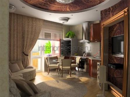 планировка комнаты нестандартной формы