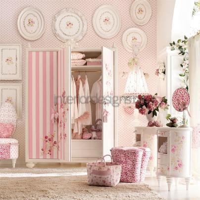 оформление комнаты девочки
