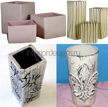 оригинальные вазы для цветов