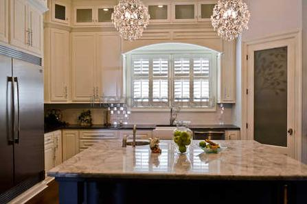 интерьер штор для кухни